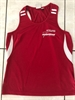 Ladies Training Singlet - Front Club Logo only